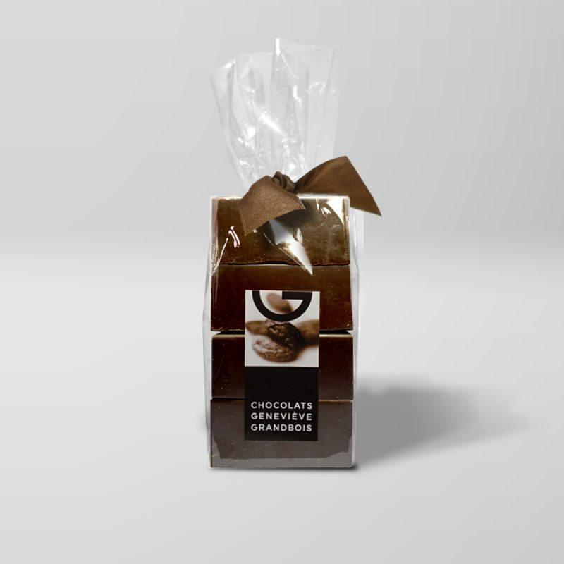 Cubes de cuisine noir 70 %